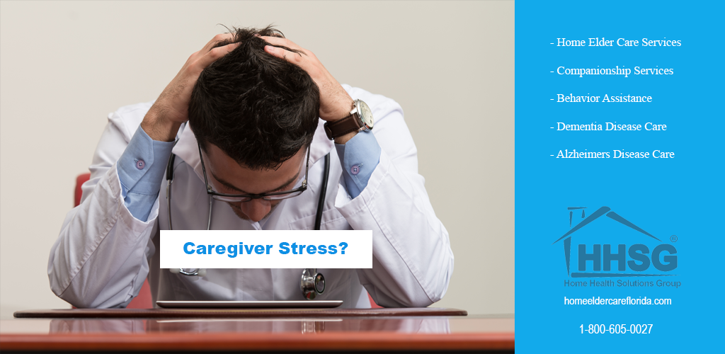 caregiver stress is real